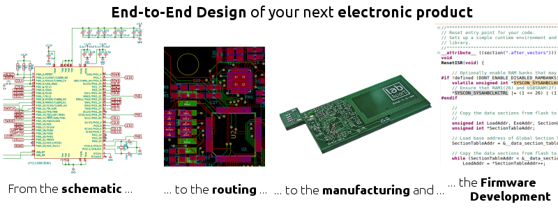end-to-end electronic design
